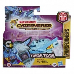 Transformers Toys Cyberverse Action Attackers: 1-Step Changer Autobot Whirl Action Figure