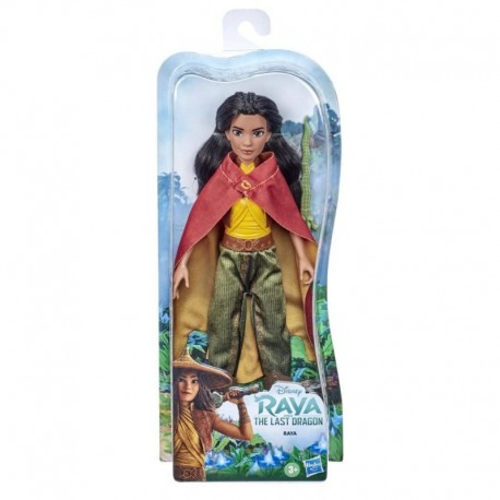 Disney Princess Raya Fashion Doll with Clothes, Shoes, and Sword, Toy Inspired by Disney's Raya and the Last Dragon Movie