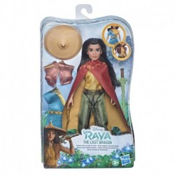 Disney Princess Raya and the Last Dragon Raya's Adventure Styles, Fashion Doll with Clothes, Shoes, and Sword Accessory
