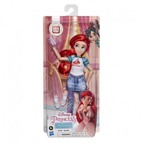 Disney Princess Comfy Squad Ariel, Ralph Breaks the Internet Movie Fashion Doll