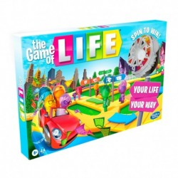 The Game of Life Game Includes Colorful Pegs