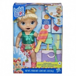 Baby Alive Sunshine Snacks Doll, Eats and 'Poops', Waterplay Baby Doll, Ice Pop Mold