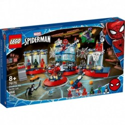 LEGO Marvel 76175 Attack on the Spider Lair