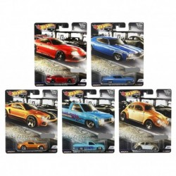 Hot Wheels Car Culture Cruise Boulevard Complete Set of 5