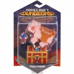 Minecraft Dungeons 3.25' Piggybank Tirelire