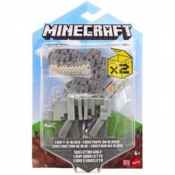 Minecraft Craft-A-Block Action Figure - Skeleton Wolf