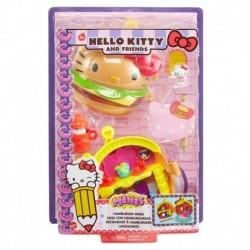 Hello Kitty & Friends Minis Hamburger Diner Playset