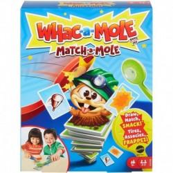 Whac-A-Mole Match-A-Mole Kids Card Matching Game with Mole Smackers
