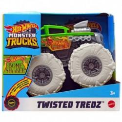 Hot Wheels Monster Trucks Twisted Tredz Bone Shaker Vehicle