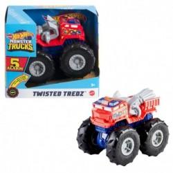 Hot Wheels Monster Trucks Twisted Tredz 5 Alarm Vehicle