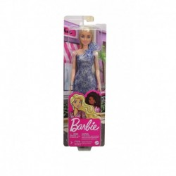 Barbie Glitz Outfits - Blonde Doll with Blue Dress