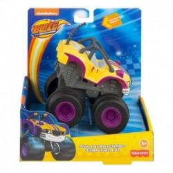 Blaze & the Monster Machines Blaze Vehicle - Slam & Go Racer Stripes