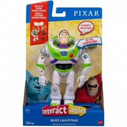 Disney Pixar Interactables Buzz Lightyear Talking Action Figure