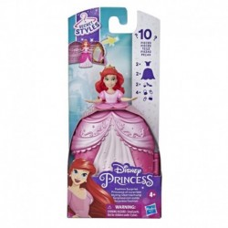 Disney Princess Secret Styles Fashion Surprise Ariel, Mini Doll Playset with Clothes and Extras