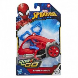 Marvel Spider-Man: Spider-Man Stunt Vehicle 6-Inch-Scale Super Hero Action Figure And Vehicle