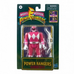 Power Rangers Retro Morphin Pink Ranger Kimberly Fliphead Figure