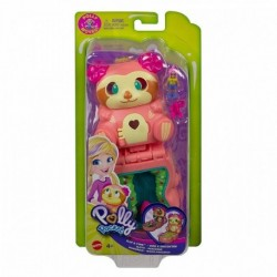 Polly Pocket Flip Find Sloth Compact