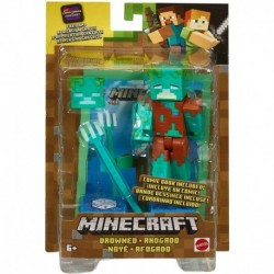 Minecraft Comic Maker Drowned Action Figure
