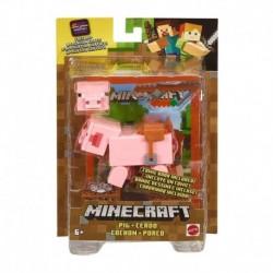 Minecraft Comic Maker Pig Action Figure