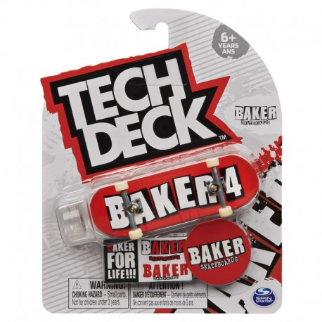 Tech Deck Single Pack Fingerboard S21 - Baker 4