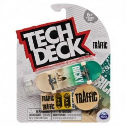 Tech Deck Single Pack Fingerboard S21 - Traffic Ricky Oyola