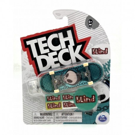 Tech Deck Single Pack Fingerboard S21 - Blind Green