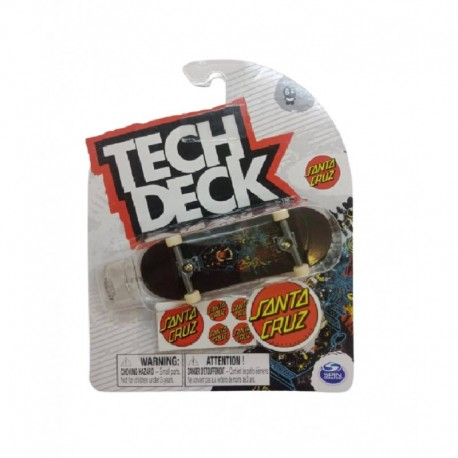 Tech Deck Single Pack Fingerboard S21 - Santa Cruz Panther
