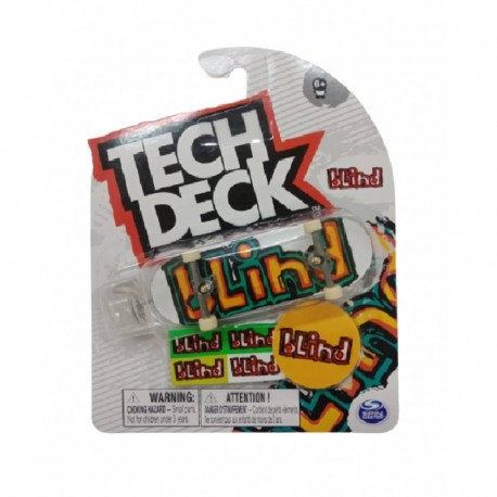 Tech Deck Single Pack Fingerboard S21 - Blind Orange
