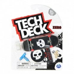 Tech Deck Single Pack Fingerboard S21 - Zero Black