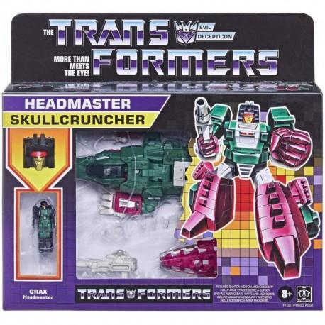 Transformers Generations Retro Headmaster Skullcruncher