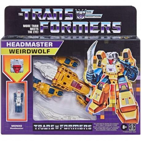 Transformers Generations Retro Headmaster Weirdwolf