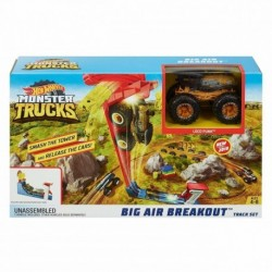Hot Wheels Monster Trucks Big Air Breakout Play Set