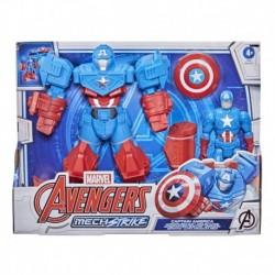 Marvel Avengers Mech Strike 20cm Captain America Action Figure