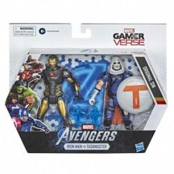 Marvel Gamerverse 6-inch Collectible Iron Man vs. Taskmaster Action Figure
