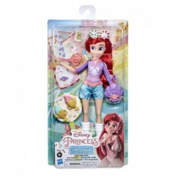 Disney Princess Comfy Squad Sugar Style Ariel Fashion Doll with Outfit and Accessories