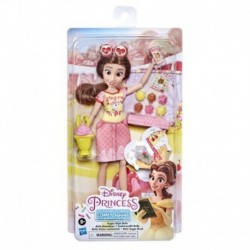 Disney Princess Comfy Squad Sugar Style Belle Fashion Doll with Outfit and Accessories