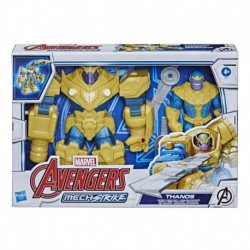 Marvel Avengers Mech Strike 7-inch Infinity Mech Suit Thanos And Blade Weapon