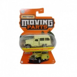 Matchbox Moving Parts 1962 Jeep Willys Wagon Yellow