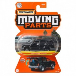 Matchbox Moving Parts 2000 Nissan Xterra Black