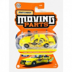 Matchbox Moving Parts 2006 Ford Crown Victoria Taxi