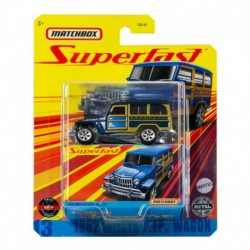 Matchbox Superfast 1962 Willys Jeep Wagon
