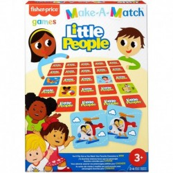 Fisher-Price Little People Theme Make-A-Match Card Game