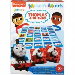 Fisher-Price Thomas Theme Make-A-Match Card Game
