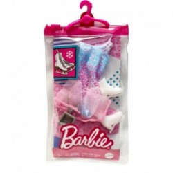 Barbie Fashion Pack Ice Skating Outfit & Ice Skater Costume
