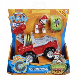 Paw Patrol Dino Rescue Deluxe Rev Up Vehicle Marshall