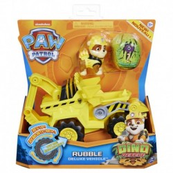 Paw Patrol Dino Rescue Deluxe Rev Up Vehicle Rubble