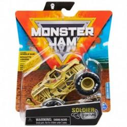 Monster Jam 1:64 Single Pack - Soldier of Fortune Wheelie Bar