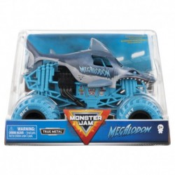 Monster Jam 1:24 Monster Truck Die Cast Vehicle - Megalodon