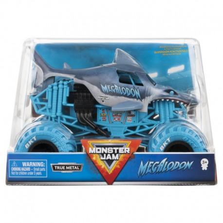 Monster Jam 1:24 Monster Truck Die Cast Vehicle - Megalodon