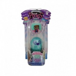 Hatchimals CollEGGtibles Mini Pixies Glitter Angels 2 Pack Tanned Green Hair